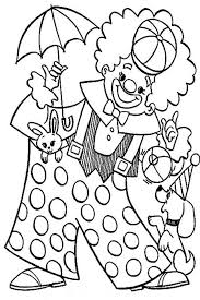 Small Picture Clown Playing with Animal Circus Coloring Page Color Luna