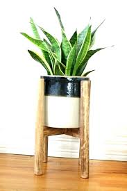 planter and stand bamboo ladder planter stand diy 2x4 planter stand plans