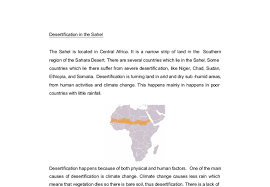 desertification in the sahel gcse geography marked by teachers com document image preview