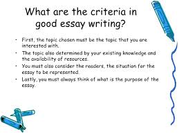 lecture what is good essay writing good essay writing 5