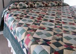 48 best Star Quilts images on Pinterest | Hand stitching, Blue and ... & Naked Quilt Sale Hand Made Quilt Amish Quilt by QuiltedTreasureCo Adamdwight.com