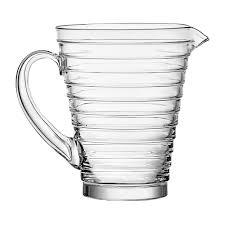 iittala aino aalto glass pitcher 1 2l clear
