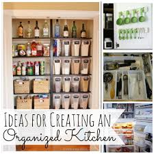 Organized Kitchen Ideas For Creating An Organized Kitchen To Be Refrigerator