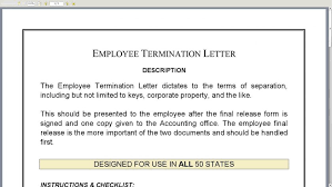 employee termination form template employment termination form template payment free employee pdf
