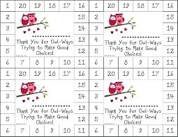 Free Punch Cards Template Free Printable Punch Card Template To Templates Chore Images