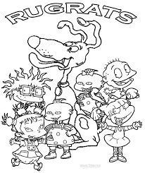 Small Picture Fresh Rugrats Coloring Pages 17 On Coloring Pages Online with