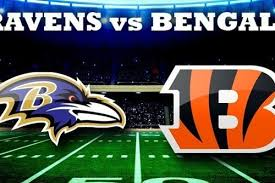 Image result for ravens at bengals thursday night