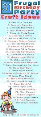 fun ideas for a birthday party at home. frugal ideas for kids\u0027 party activities fun a birthday at home