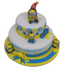 Birthday Cake Minion Design Birthday Cake Minion Design