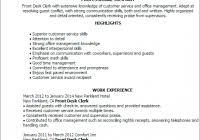 Desk Clerk Resumes Front Desk Clerk Resume Www Sailafrica Org