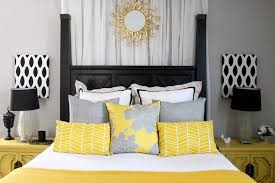 yellow bedroom furniture. Cool And Elegant Grey Yellow Bedroom For Sweet Home White Be: Large Size Furniture R