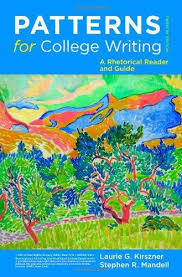 Patterns For College Writing Stunning Patterns For College Writing A Rhetorical Reader And Guide Twelfth
