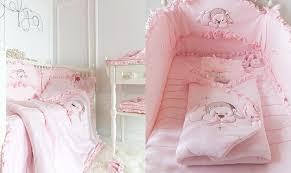 luxury baby nursery furniture. Baby Girl Pink White Luxury Nursery Cot Crib Bumper Protection Anastasia: Amazon.co.uk: Furniture