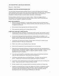 Sales Associate Resume Description 24 Elegant Sample Resume For Jewelry Sales Associate Resume Ideas 20