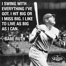 Famous Baseball Quotes Unique Babe Ruth Inspirational Quotes QuotesGram For Quinn Pinterest