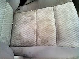 removing stain from leather car seat covers