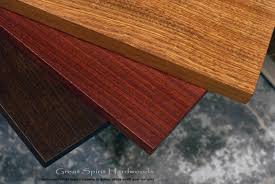 custom made solid wood table tops for restaurant office library and residential clients in