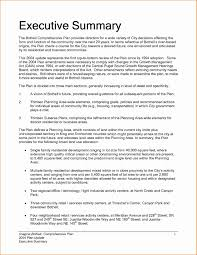 Summary For Resume Example Resume Sample Executive Summary Copy Executive Summary Resume 46