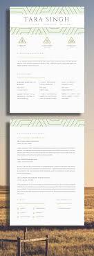 30 Best Resume Design Templates Images On Pinterest Creative