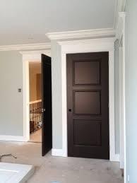white trim with wood doors Google Search Doors Pinterest