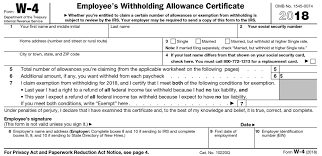 Differences Between Irs Forms W 2 And W 4