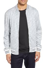 men s vince camuto slim fit reversible er jacket size x small grey