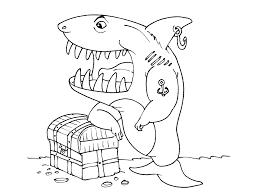 Coloriage Requin Les Beaux Dessins De Animaux Imprimer Et
