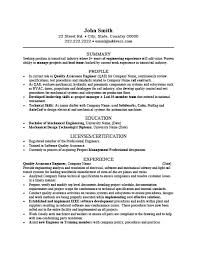 Contract Quality Engineer Cover Letter Photo Image Certified