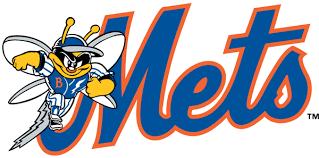Binghamton Mets Primary Logo - Eastern League (EL) - Chris Creamer's ...