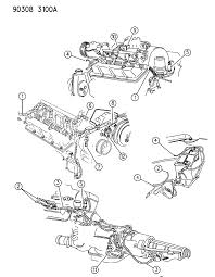 1993 dodge dakota wiring engine front end related parts diagram 000005zp