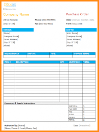 excel po template 10 download purchase order format in excel odr2017