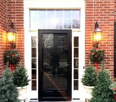 elegant front doors. Elegant Home With Entry Door And Sidelights Front Doors