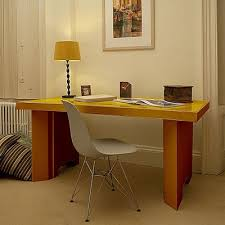 cardboard office furniture. fluteofficecom lets you customise the colours of your cardboard desk like this from office furniturethe furniture r