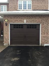 aurora overhead door on twitter new install of a 10x7 clopay doors gallery collection chocolate brown with insulated windows