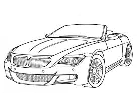 Small Picture Boys Coloring Pages BMW M6 Luxury Car Coloring Page Boys