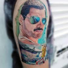 40 Freddie Mercury Tetování Vzory Pro Muže Queen Inkoustové Nápady