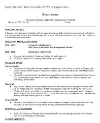 Classic Blue Work Objectives Template Personal Professional Examples