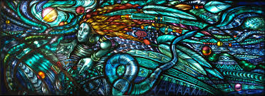 non commissioned stained glass art