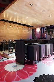 Stunning Interior Of Kinoya Japanese Bistro By Jean De Lessard - Japanese house interiors