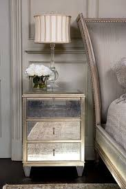 mirrored furniture ideas. perfect furniture would you be open to painting your bedside tables give them a metallic  patina to mirrored furniture ideas g