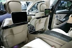 mercedes 2015 interior. 2015 mercedes benz s600 rear interior