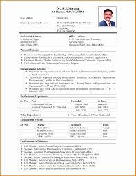Hospital Pharmacist Resume Pdf Luxury B Pharmacy Resume Format For