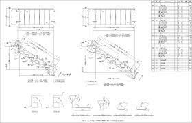 Sample Drawings : Stair Sheet Railing Sheet