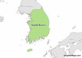 South Koreas Languages Graphicmaps Com