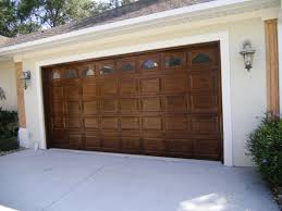 How to Wood Grain Garage Doors | Faux Finish | Decorative Painting ...