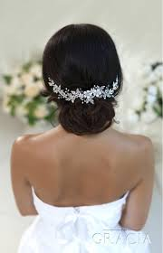 Coiffure Mariage Cheveux Mariee Piece Headband Cristal