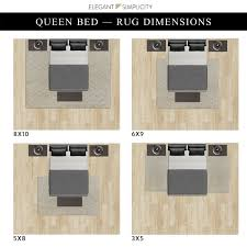 placing a rug under your bed