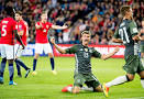 Image result for fotball tyskland norge tv