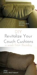 make those frumpy cushions look brand new revitalize your couch cushions