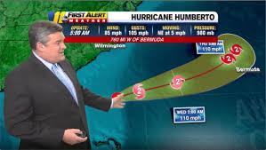 Humberto: Hurricane forecast says storm won't hit NC, SC hard ...